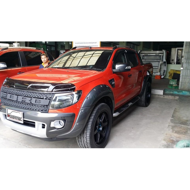 ford ranger raptor grill bis 2015 zubeh r fibertek. Black Bedroom Furniture Sets. Home Design Ideas