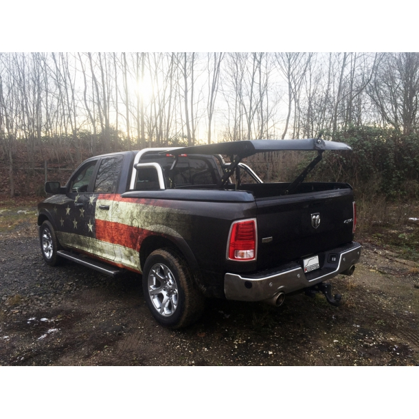 DODGE RAM 1500 QUAD-CAB TOPUP COVER © MIT STYLING BAR
