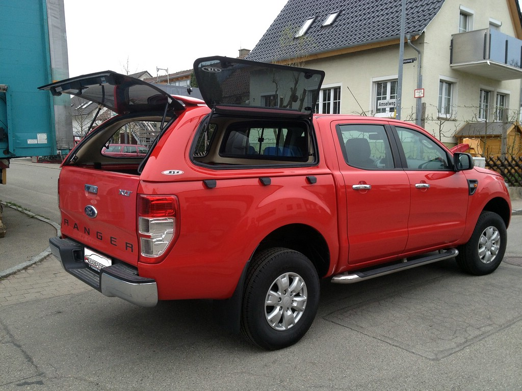 ford ranger d cab hardtops version ii kundenfotos. Black Bedroom Furniture Sets. Home Design Ideas