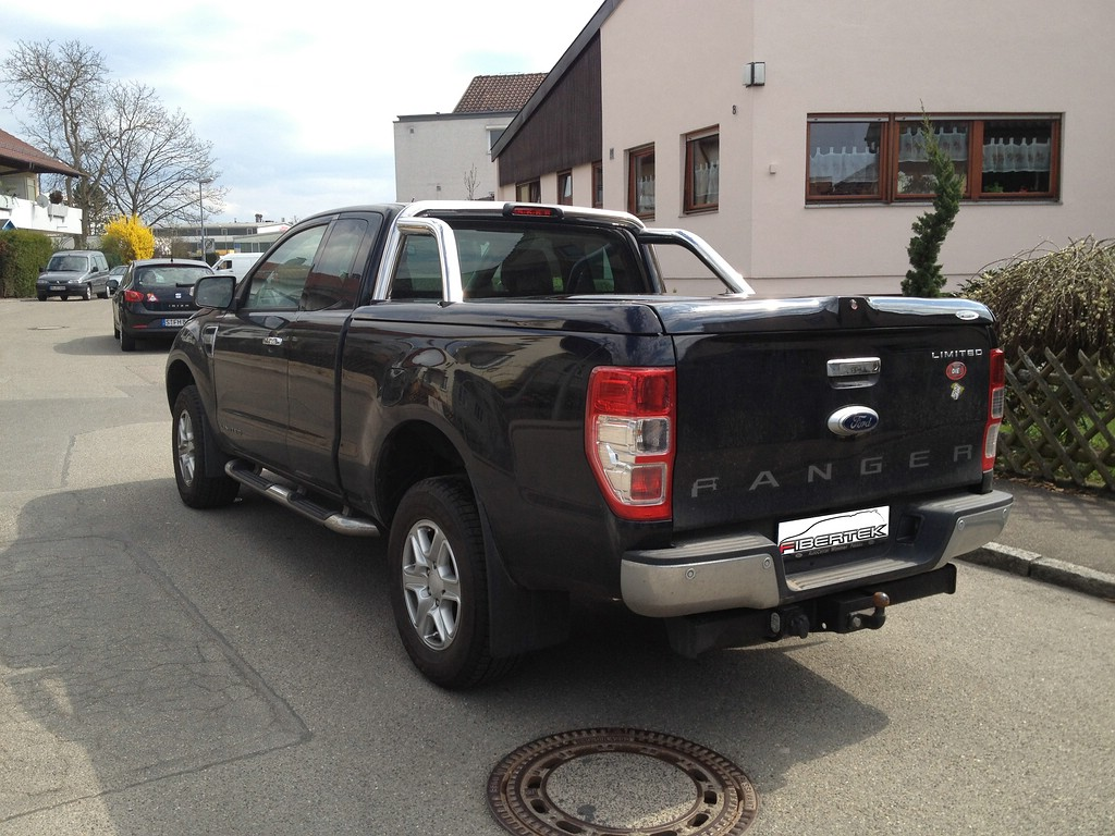 Ford Ranger Extra Cab Topup Cover Kundenfoto 1