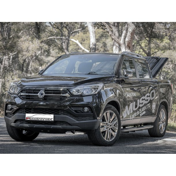 SSANGYONG MUSSO D-CAB OUTBACK - SCHWARZ