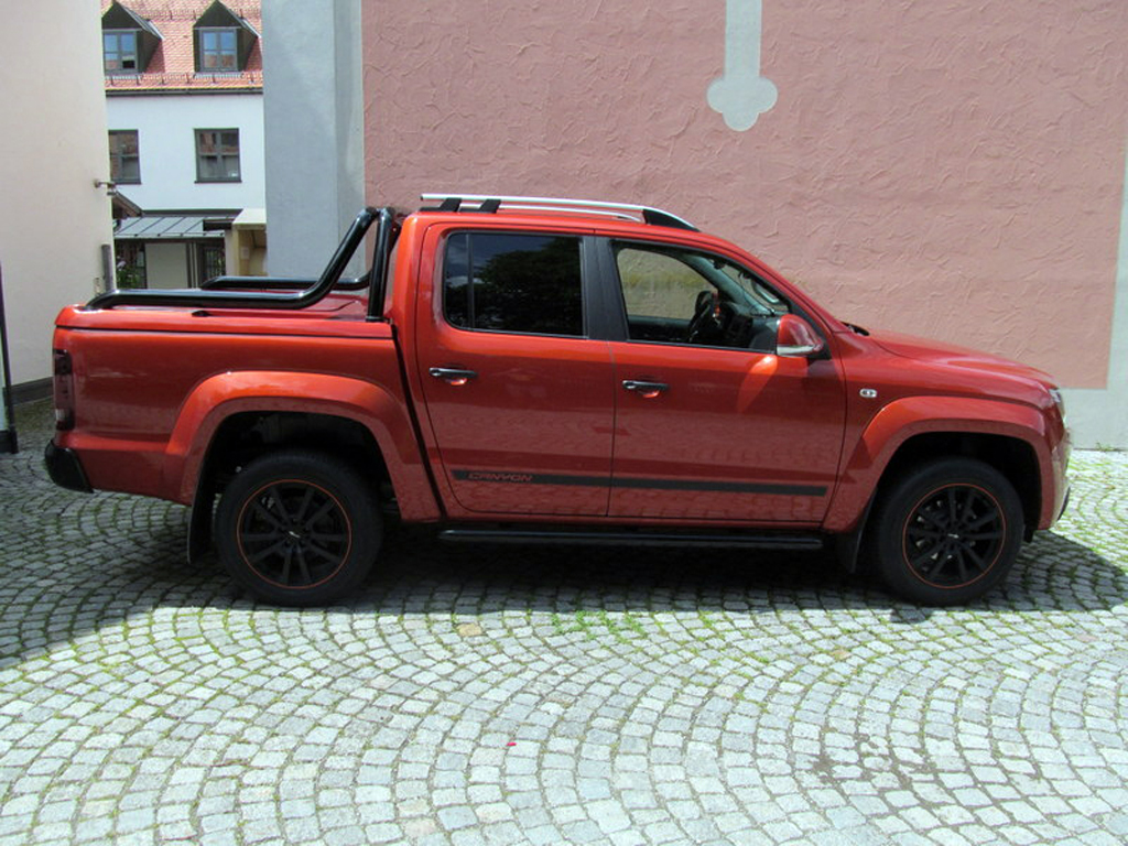 vw amarok d cab topup cover f r original canyon bar v6. Black Bedroom Furniture Sets. Home Design Ideas